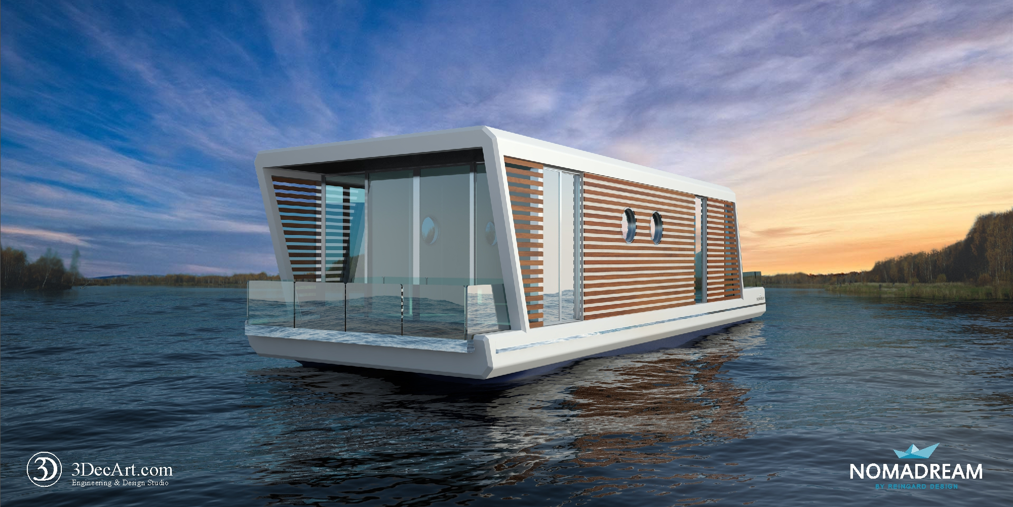 Project House On The Water Nomadream